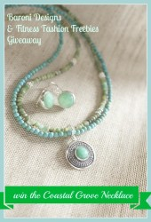 Coastal Grove Necklace By Baroni Jewelry Giveaway ARV $160