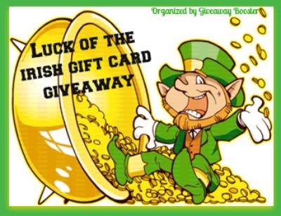 Luck of The Irish $45 Amazon eGift Code Giveaway