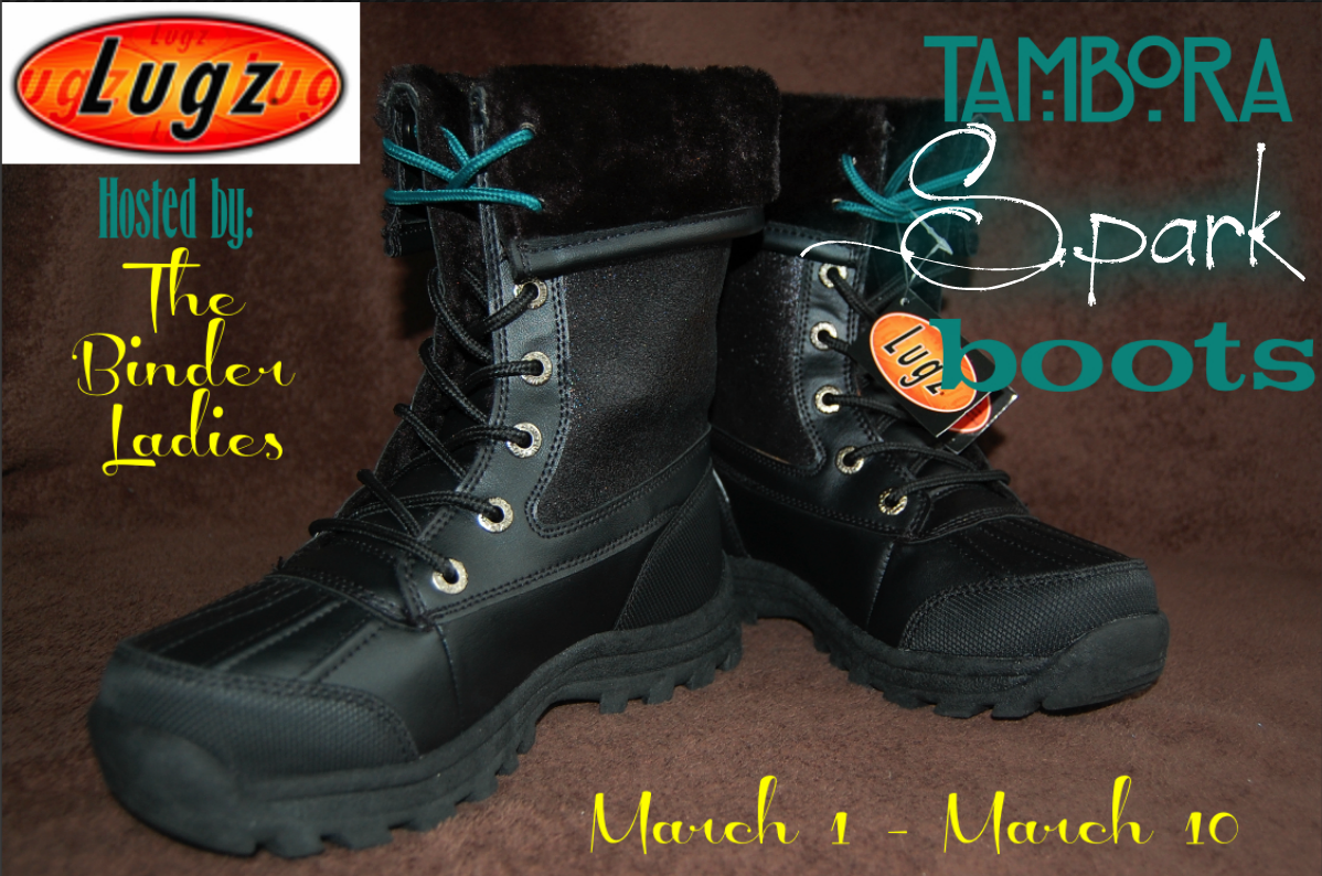 LUGZ Tambora Spark Giveaway  Product Review Cafe