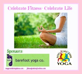Celebrate Fitness With A Yoga Giveaway Ends 4-19-13