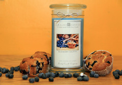 Juicy Blueberry Muffin Jewelry Candle Giveaway