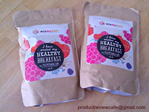 Mix My Own Custom Muesli & Granola Product Review