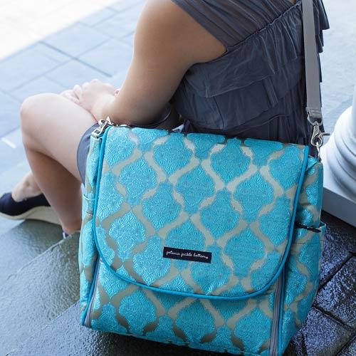 Bloom Into Baby Petunia PB Giveaway Designer Diaper Bag ARV $205