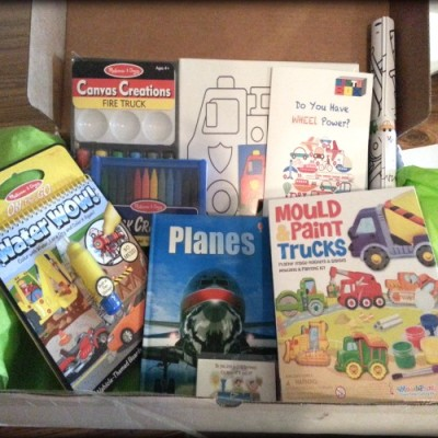 Montubox Monthly Subscription Box for Kids Product Review