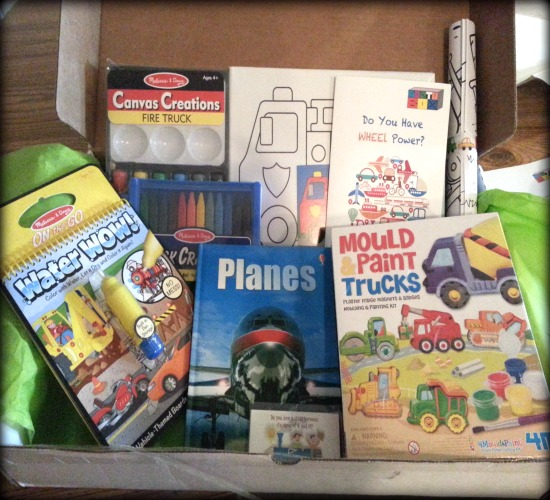 Montubox Monthly Subscription Box for Kids Product Review  Product Review Cafe