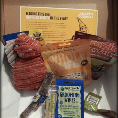 Happy Dog Box Monthly Subscription Product Review