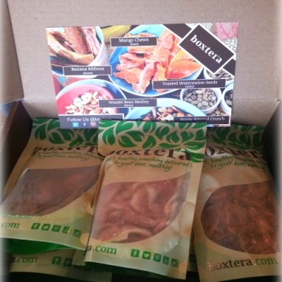Boxtera All-Natural Snacks Monthly Subscription Box Product Review