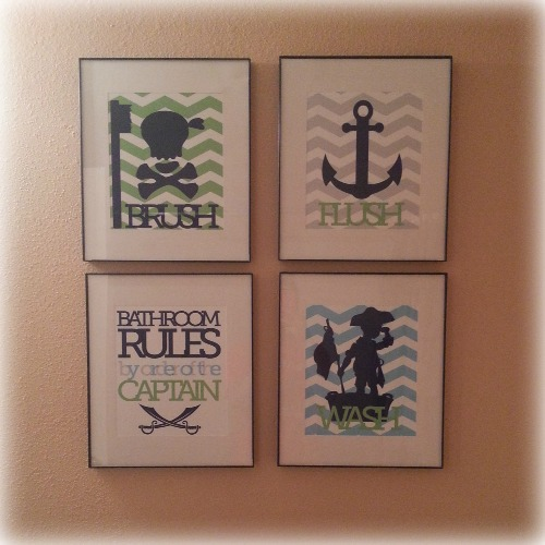 PaperRamma Pirate Bathroom Rules Product Review  Product Review Cafe