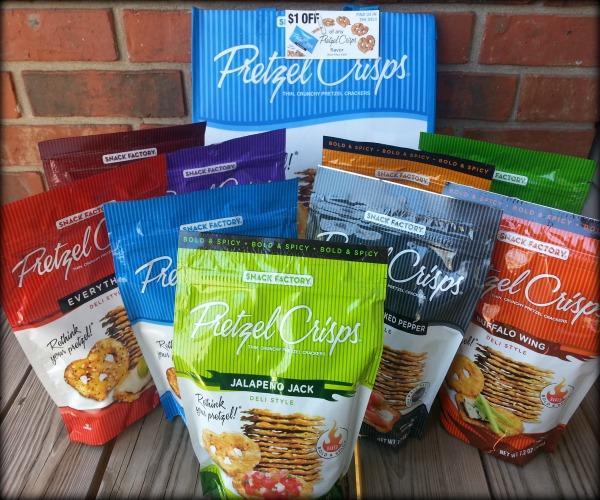 Snack Factory Pretzel Crisps® Product Review