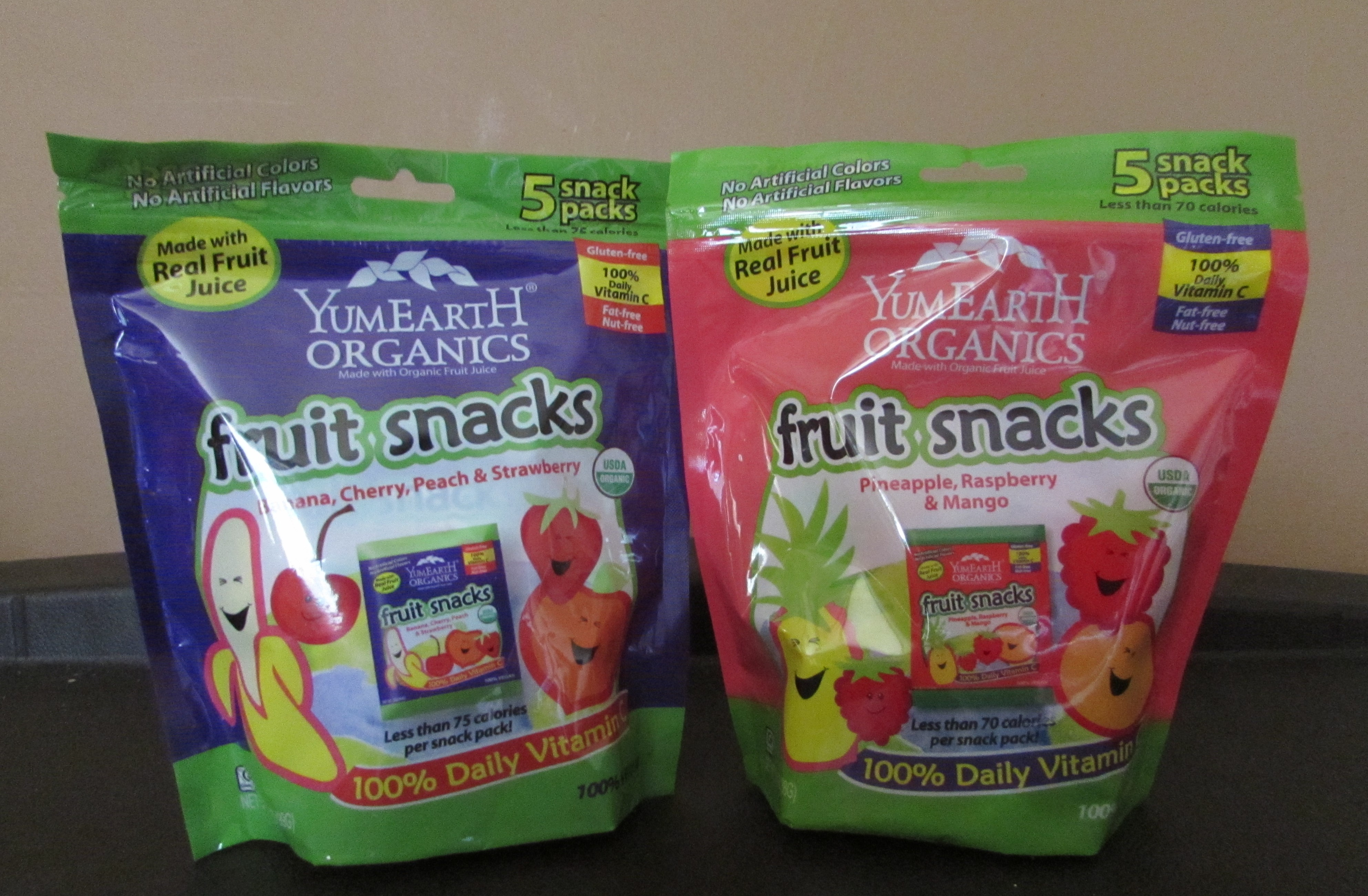 YumEarth Organics Fruit Snacks Product Review