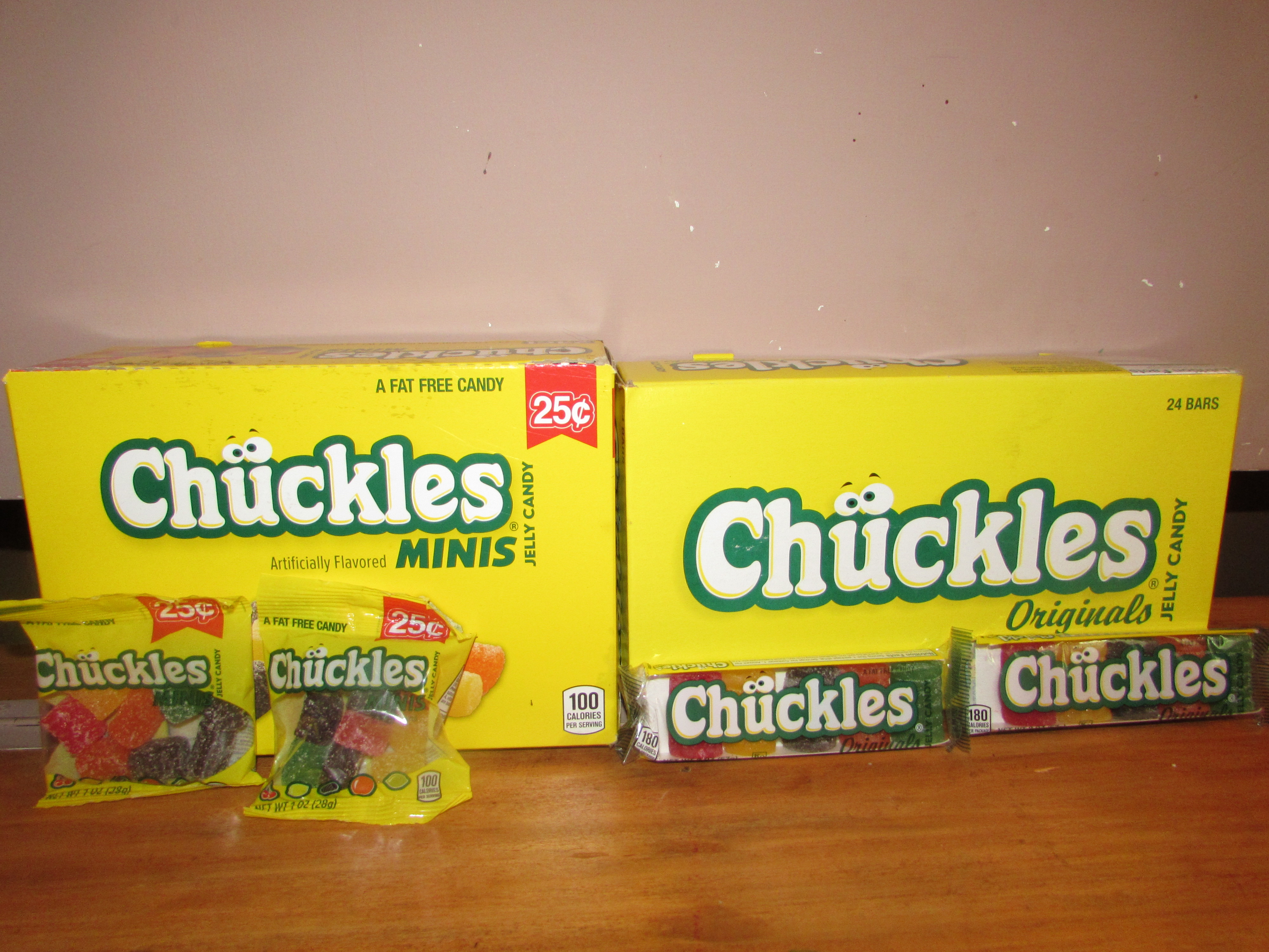 Chuckles Candy Review  Product Review Cafe