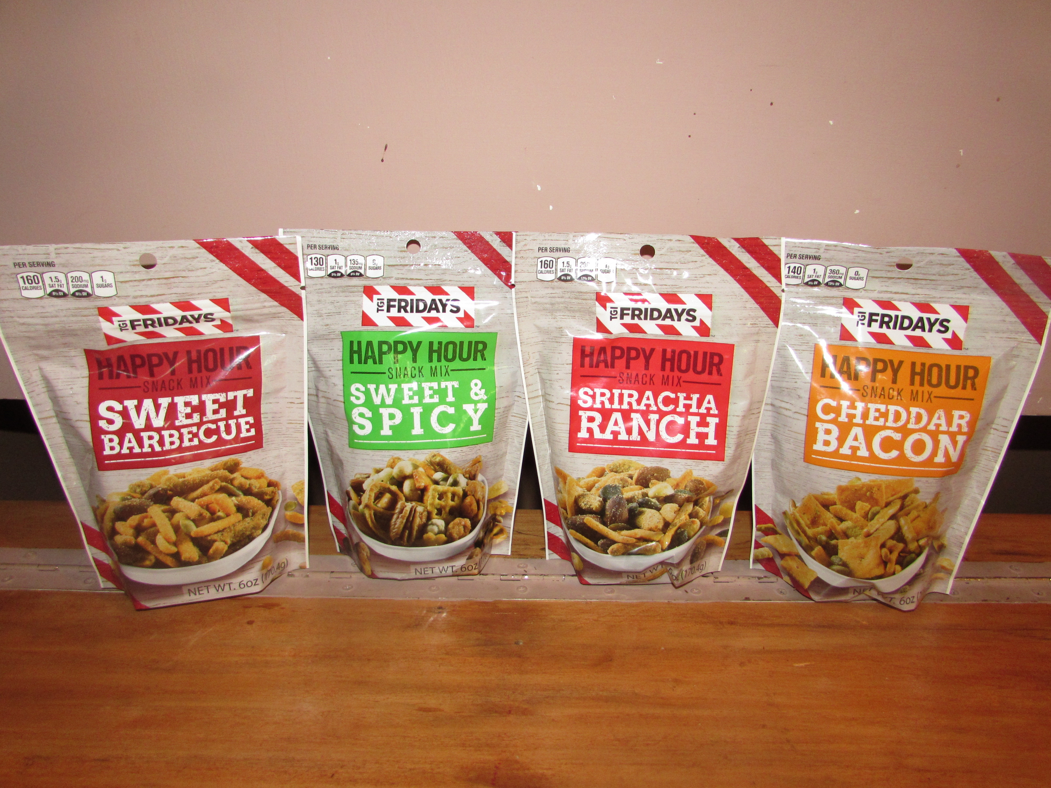 Tailgating Snacks from TGI Fridays  Product Review Cafe 1