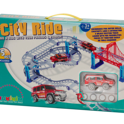 Build A Track City Ride Review