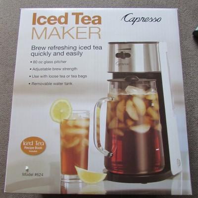 Capresso Iced Tea Maker Review