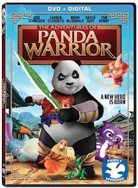 The Adventures of Warrior Panda on DVD 8/2
