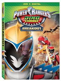 Announcement: Power Rangers Dino Chargers: Breakout on DVD 7/12