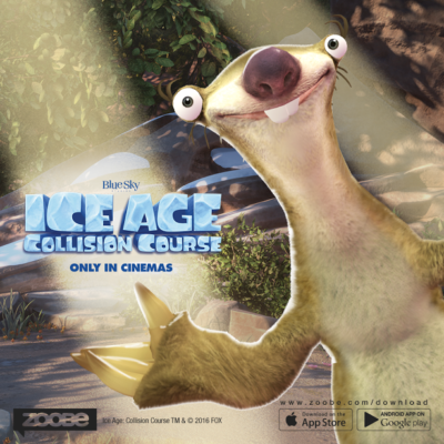 Zoobe App Brings Ice Age Characters to Smart Phones