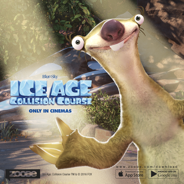 Zoobe App Brings Ice Age Characters to Smart Phones