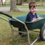 Best Choice Products Dual Wheel Garden Cart