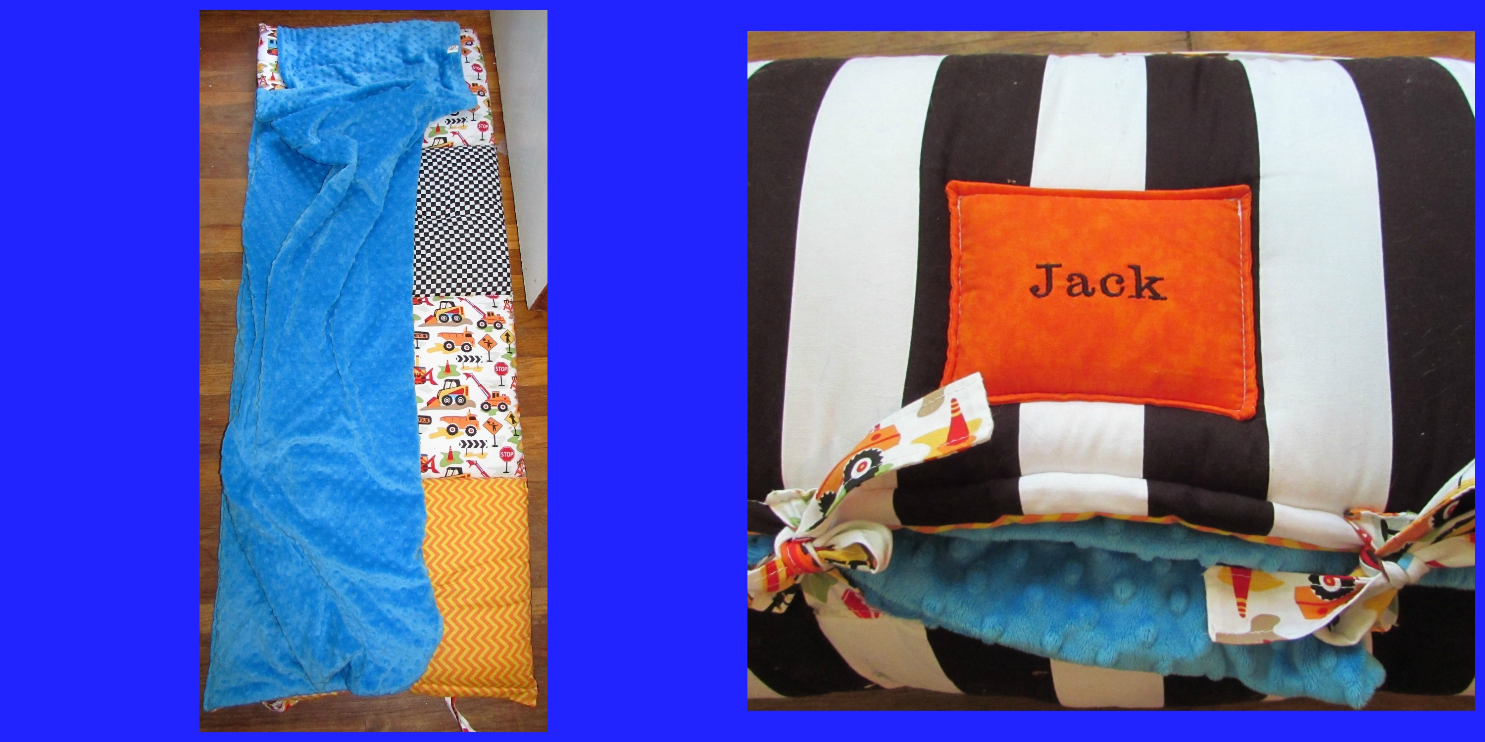 Janiebee Quilted Nap Mat