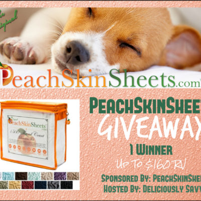 PeachSkinSheets Giveaway (1 Lucky Winner!) ~ Any Color and Any Size! Ends 8/01
