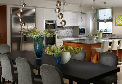 Enjoy Celebrations in a Newly Designed Formal  Dining Room by J Design Group!