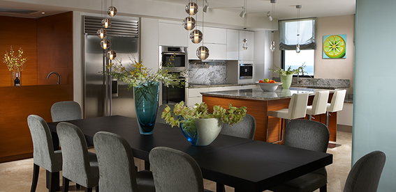 Enjoy Celebrations In A Newly Designed Formal Dining Room By J Design Group Product Review Cafe