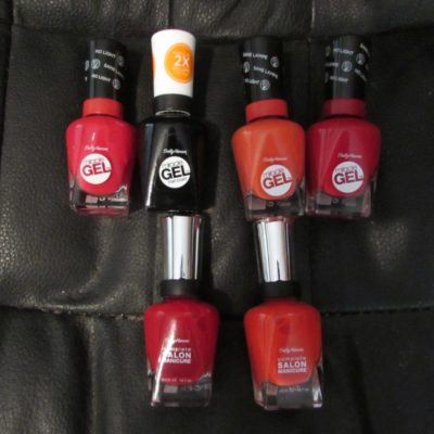 Get RED-y for Fall with Sally Hansen