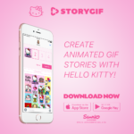 Zoobe Hello Kitty Messenger App