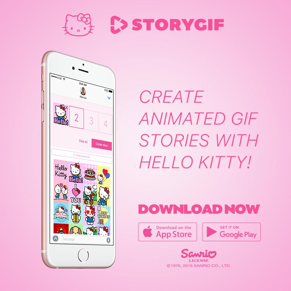 Zoobe Hello Kitty Messenger App