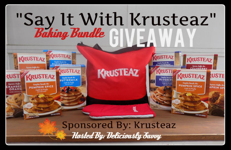 """Say It With Krusteaz"" Fall Baking Bundle Giveaway ~ Ends 11/01 #krusteaz"