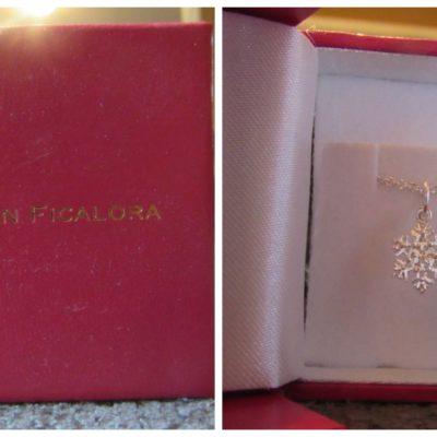 Helen Ficalora Snowflake Mini Charm Necklace