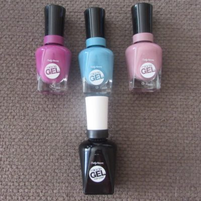 Enjoy Spring Fashion with Sally Hansen Miracle Gel