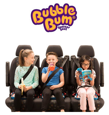 BubbleBum; The portable, lightweight, inflatable booster seat for children ages 4-11