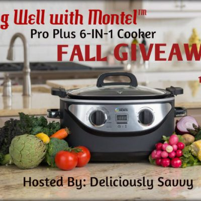 Living Well with Montel™ Pro Plus 6-IN-1 Cooker Fall Giveaway!