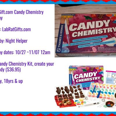 Candy Chemistry – Science Kit Giveaway