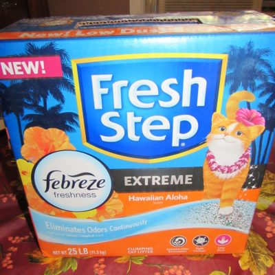 Fresh Step Aloha Litter #ChewyInfluencer