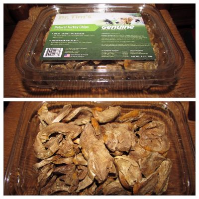 Dr Tim's Natural Turkey Chips #ChewyInfluencer
