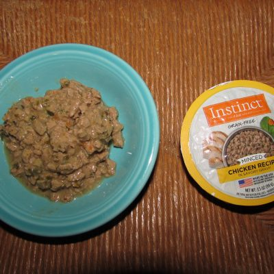 Instinct by Nature's Variety Grain-Free Minced Recipe with Real Chicken Wet Cat Food Cups