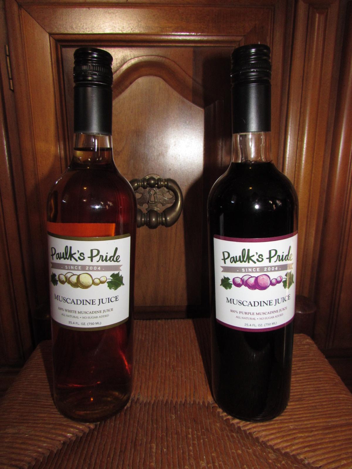 Paulk's Pride Muscadine Products