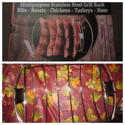 Cave Tools Rib Roast BBQ Rack