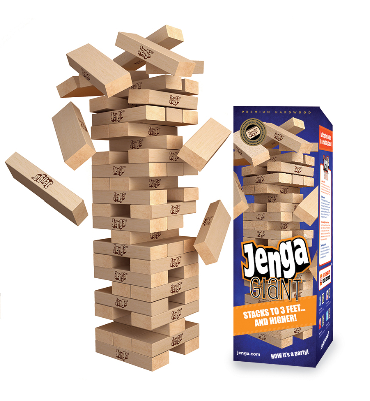 Jenga Giant– The Perfect Game for Holiday Parties