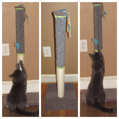 SmartyKat Claw Tower