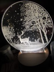 3D LED Night Light from ApolloBox