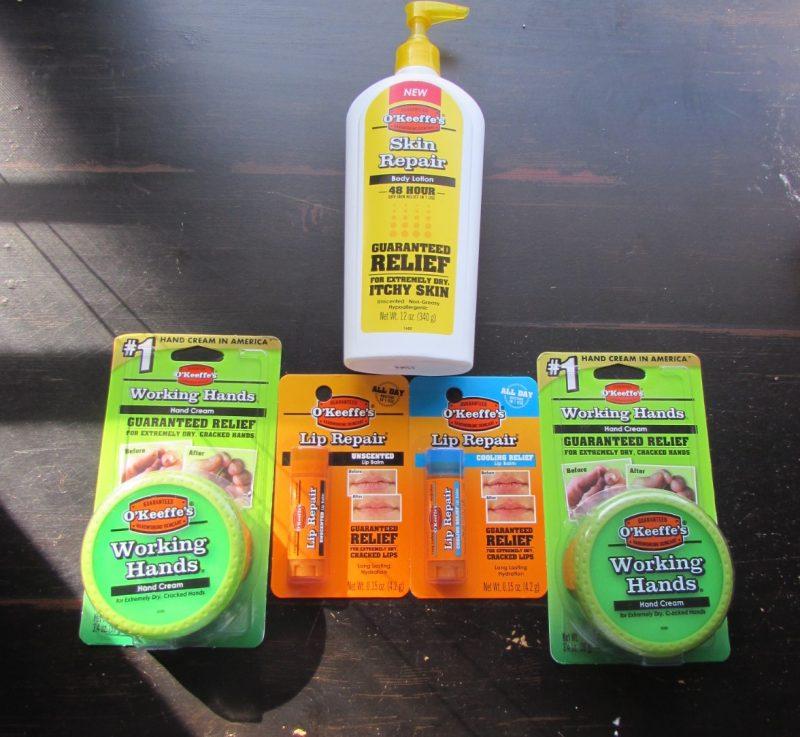 O'Keefe's Product Line