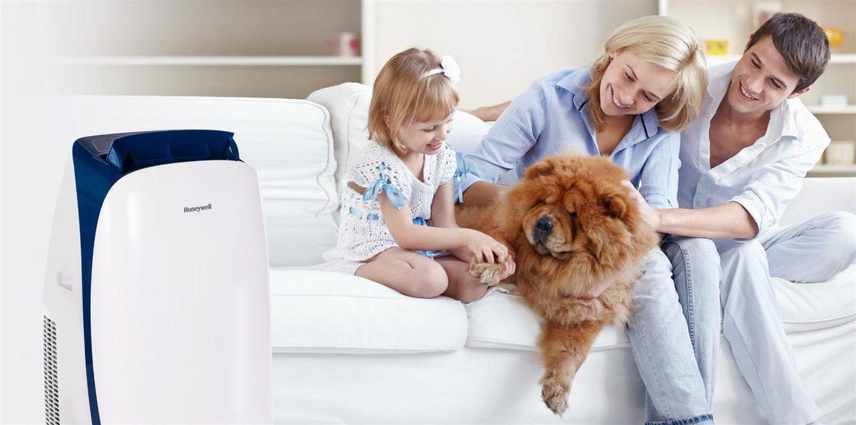 Enter to Win a Honeywell HL14CESWB Portable Air Conditioner