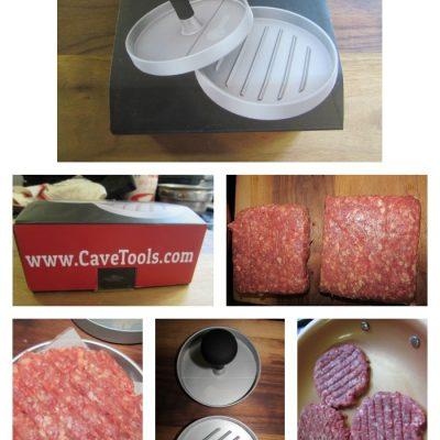 Cave Tools Burger Press Patty Maker