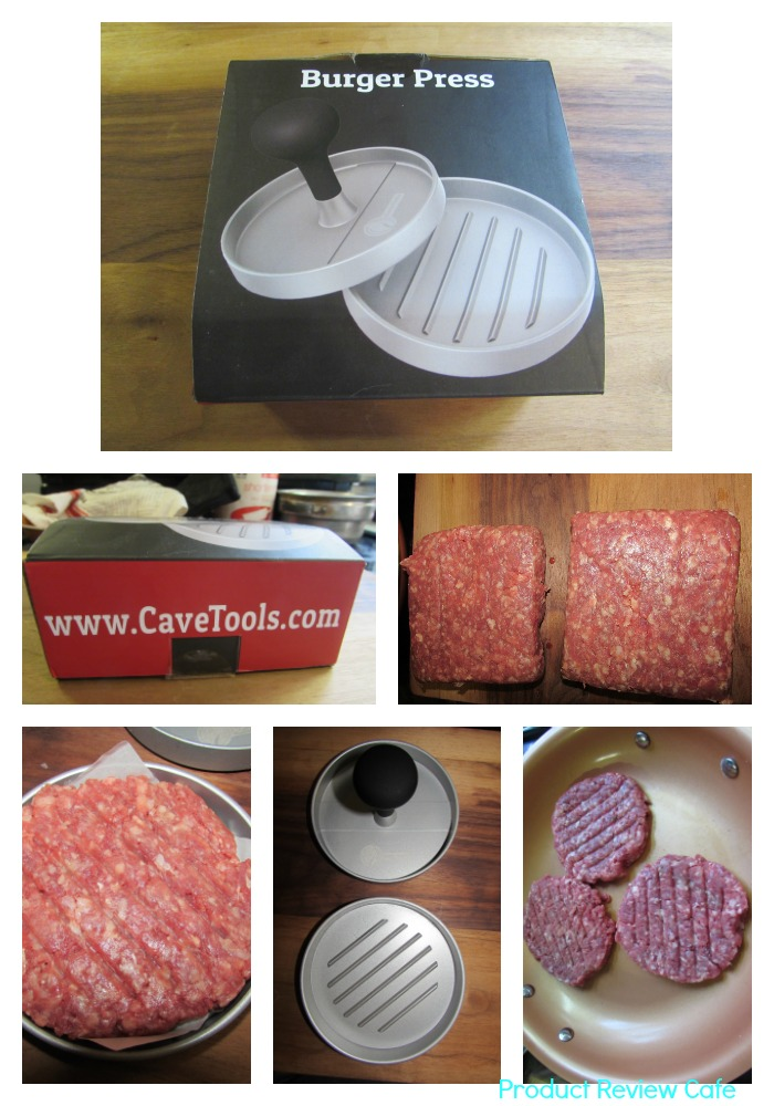 Cave Tools Burger Press Patty Maker