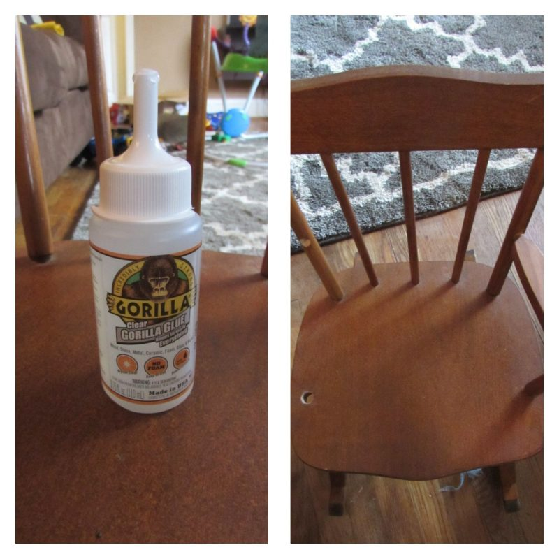 Gorilla Glue Chair
