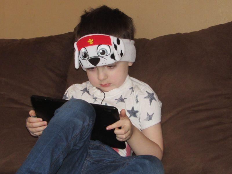 Jack Using CozyPhones